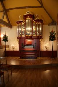 St. Cyr (F) huisorgel Van Ommeren